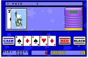 Graphics Screenshot for American Poker Time Challenge