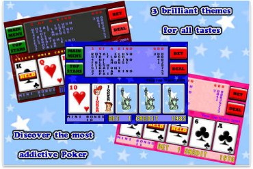 Graphics Screenshot for Joes American Poker