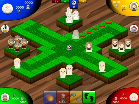 Graphics Screenshot for Lud O the Rings Fantasy Game