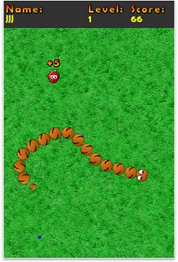 Graphics Screenshot for Snakey