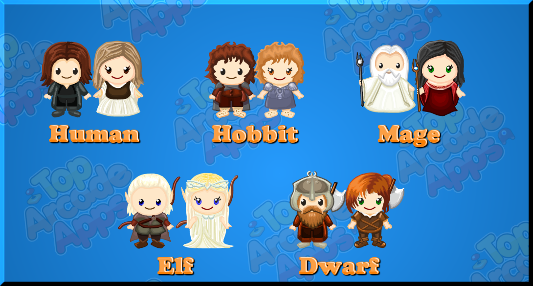Image of rpg fantasy characters